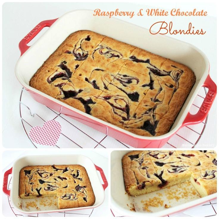 Merceditas Bakery: Raspberry White Chocolate Blondies ...