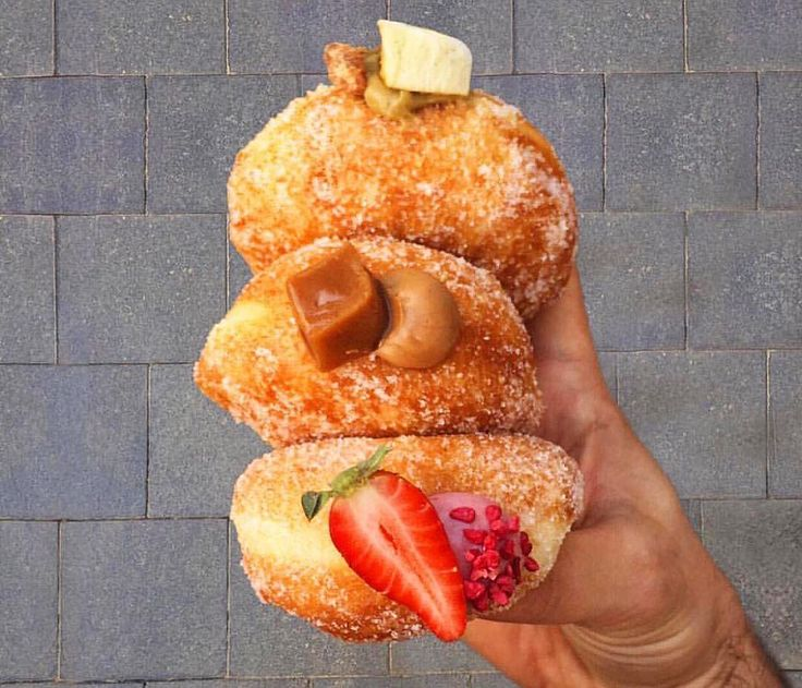 """All this #Chanukah talk has got me with #donuts on the brain.  One of the best places in the world to pick up a #sufganiyah this upcoming #חנוכה is at @kadosh67 in #Jerusalem. They're a cafe near the center of town known for their amazing pastries and fillings.  Put this on your """"to do-nut"""" list this holiday season.  Your comments keep me going . Shoot me a note or tag your friends if you like what I'm dishing up  #kosherrestaurant #kosherfoodie  #kosherfoodies#eeeeeats #everyday #instayum…"""