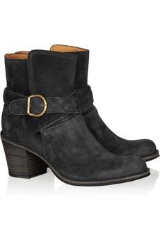 Fiorentini & Baker: Fashion, Su Ankle Boots, Baker Nubi, Baker Boots, Style, Black Boots, Suede Ankle Boots, Fiorentini Baker, Black Suede