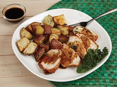 Roast Pork Loin With Red Potatoes Recipe Power Airfryer