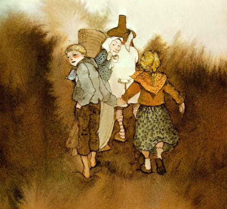 Lisbeth Zwerger - Illustration - Hansel & Gretel