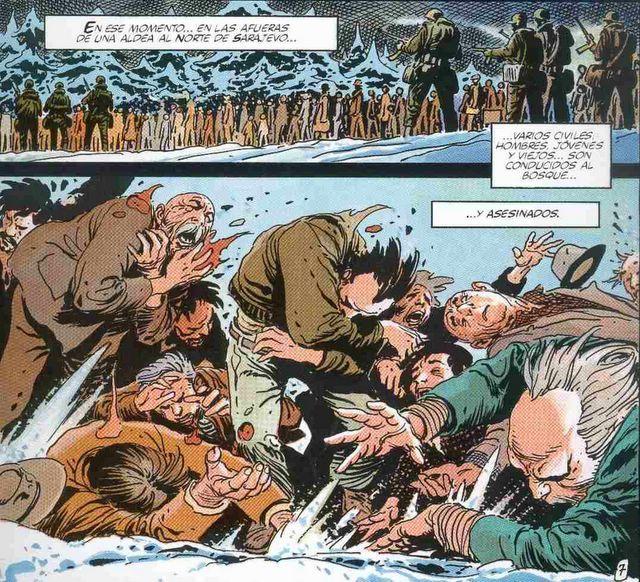 El blog Ausente: VIÑETAS DE LOS BALCANES : Los cómics sobre el conflicto de la antigua Yugoslavia (Parte Uno)