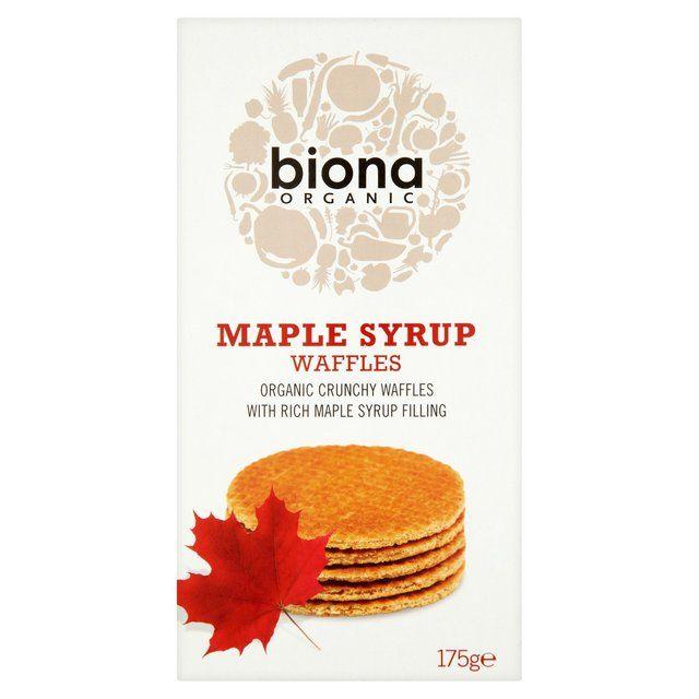 Biona Organic Waffles Maple Syrup