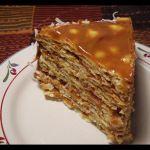 Thousand layer cake