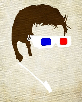 Dr Who, Minimalist-Style.