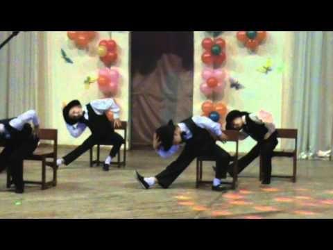 Самолюк Настя -танец джентельменов - YouTube