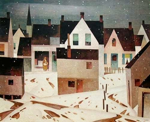 A.J. Casson Late Flurry
