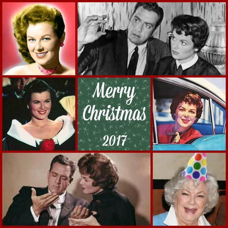 Merry Christmas to all Perry Mason fans who celebrate the season - Remembering our beautiful Barbara Hale