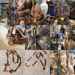 Indian Meditation Buddhist Yoga Mala: Spiritual Mala Beads