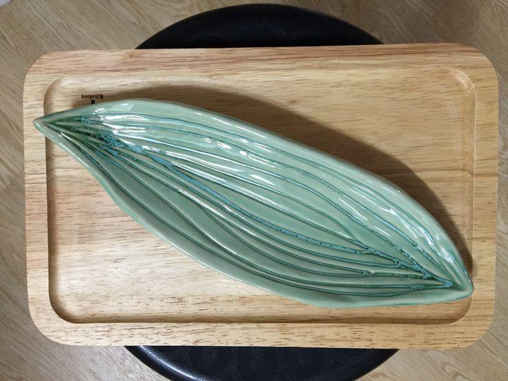 나뭇잎접시