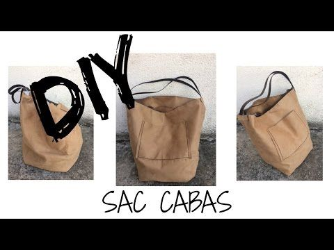DIY FACILE sac cabas - YouTube