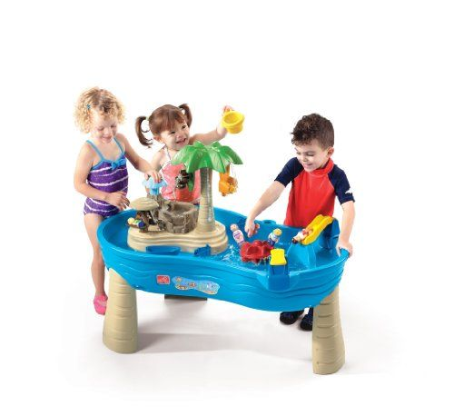 Step2 Tropical Island Resort. Sand and water play with lots of cute accessories.