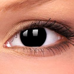 Blackout+Opaque+BLIND+Contact+Lenses, £24.99