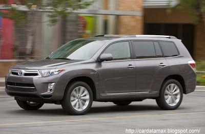 Toyota Highlander Hybrid (2011) | Toyota | Pinterest