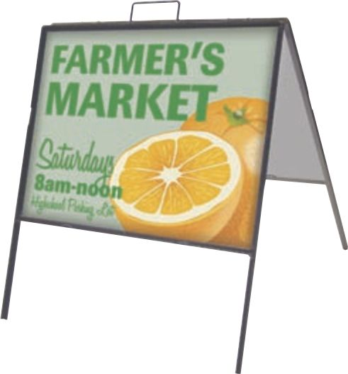 check out the top loading metal sign two pack that will keep business pouring in shop displayfair today to find the perfect frame for you