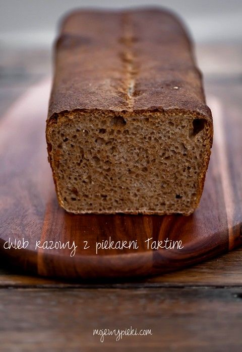 Tartine Country Bread - wersja razowa