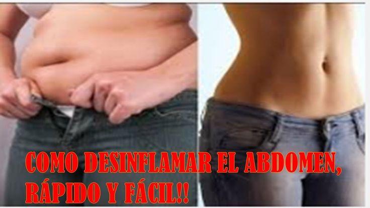 Como Desinflamar el Estomago?