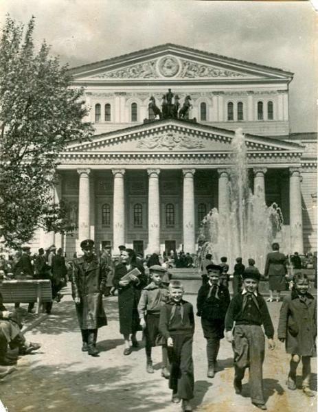 Большой театр, 1950-е 1950-01-01 - 1959-12-31, г. Москва