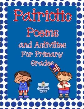 Celebrate President's Day, Memorial Day, Veteran's Day, and more with these fun poems and activities! $