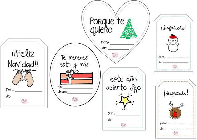 Creative Mindly: Diseña tus propias etiquetas con Power Point + etiquetas navideñas para descargar gratis