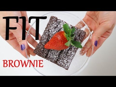 FIT Brownie z fasoli (bez glutenu, bez cukru, bez laktozy) | Ugotowani.tv HD - YouTube
