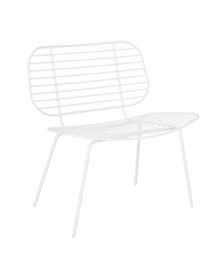 Racquet Easy Chair. | http://www.huntingforgeorge.com