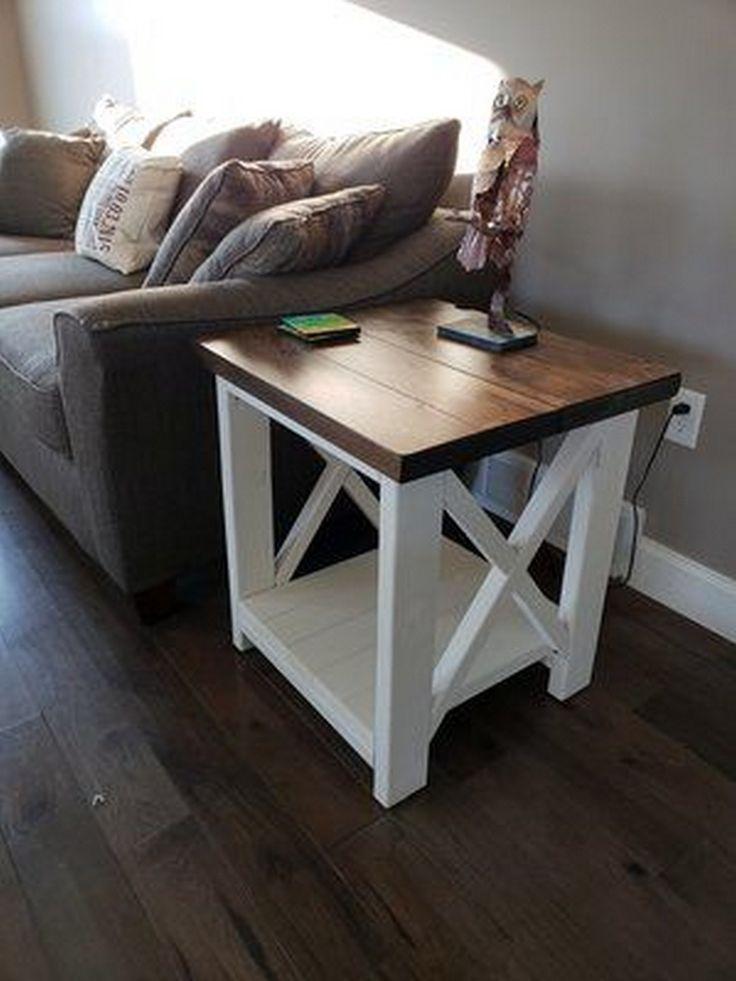 26 Best Farmhouse End Table Design Ideas Give Aesthetic