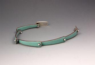 Enameled bracelets - W Walsh Designs