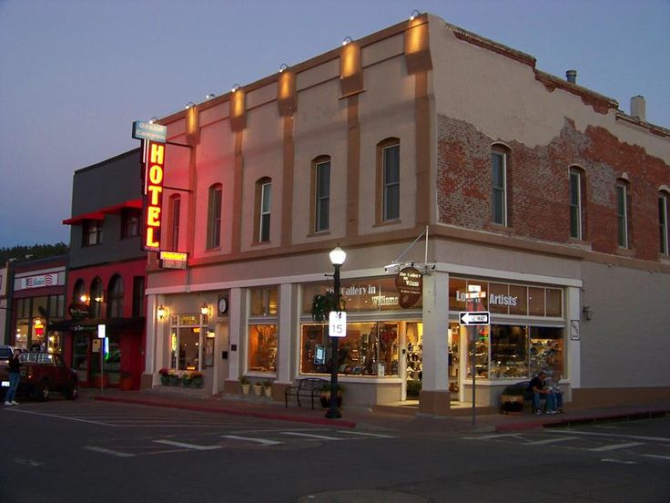 Route 66 Williams Arizona The Historic Grand Canyon Hotel Mother Road Pinterest O Jays And