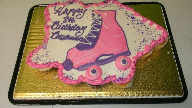 Roller Skate Cake at ISC Cherry Hill