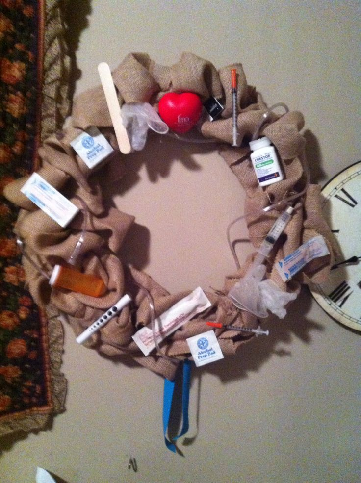Nursing wreath