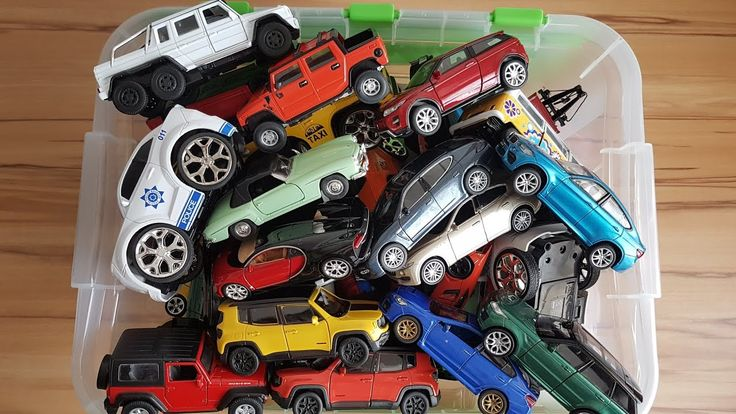 Cars for Kids: Lots of Toy Cars Welly Cars - Youtube Video for Kids
