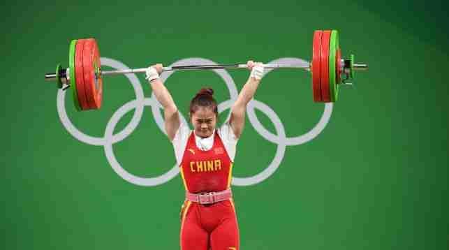 Китаянка выиграла золото в тяжелой атлетике с мировым рекордом http://www.belnovosti.by/sport/50716-100820160900.html