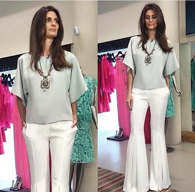 Isabella Fiorentino - Esquadrão da Moda exibido em 14/3/2015. Iódice