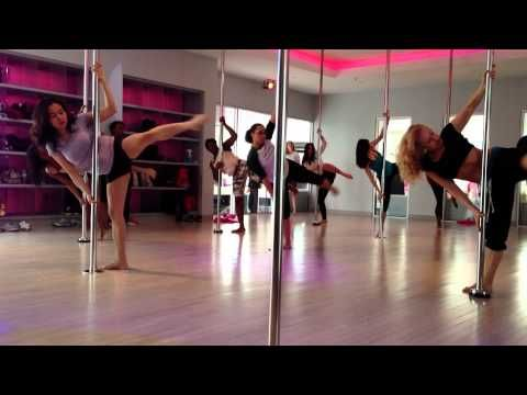 Would be good for level 1. Pole Dance Class Routine to Wicked Games by The Weeknd, Flirty Girl Fitness - YouTube
