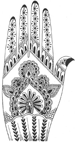 Mehndi Tutorial Pdf : Pakistan cricket player printable henna designs tattoo