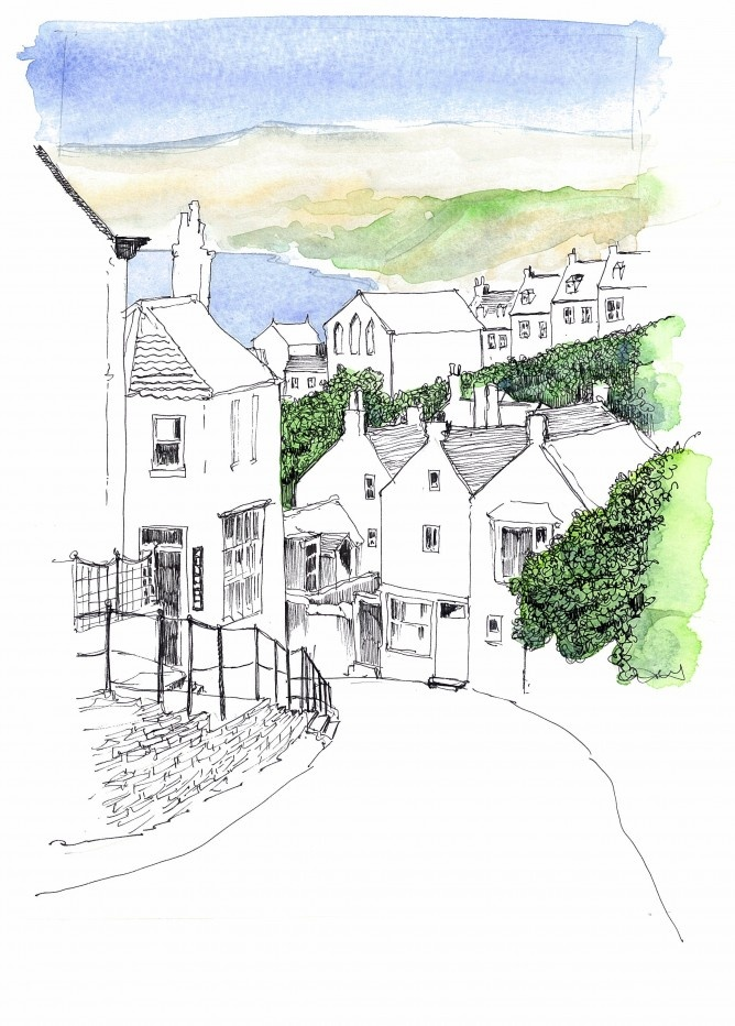 Robin Hoods Bay  By John Harrison