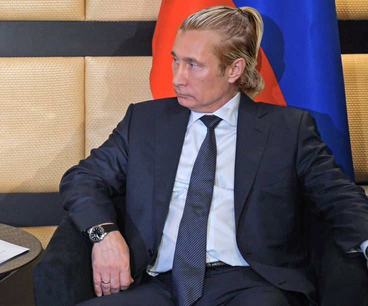 This is How World Leaders Would Look With a Man Bun