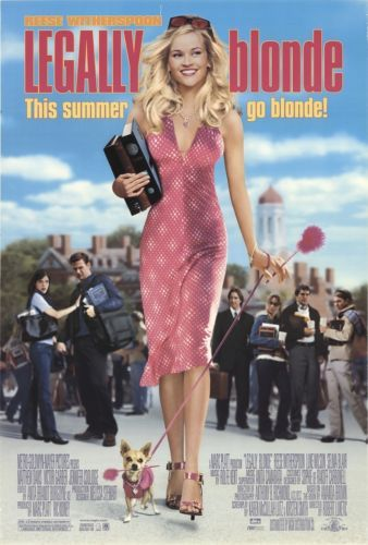 Legally-Blonde-Original-Framed-Movie-Poster-From-Theaters-Reese-Witherspoon