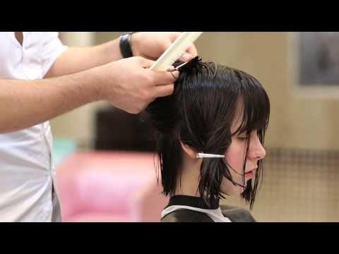 Evde Katlı Saç Kesimi Nasıl Yapılır | makeup breanna - YouTube