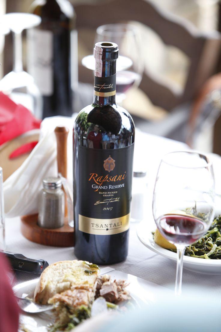 mmm traditional recipies complimented with the GRANDE #rapsani #tsantali #wine #adventure #epxerience #oenotourism