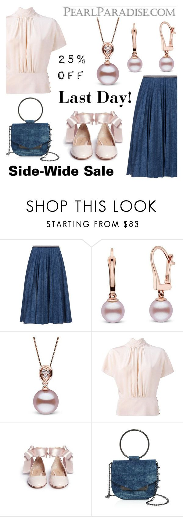 """Last day: Site-Wide Sale 20% OFF"" by pearlparadise ❤ liked on Polyvore featuring Leur Logette, RED Valentino, Nasty Gal and pearlparadise"