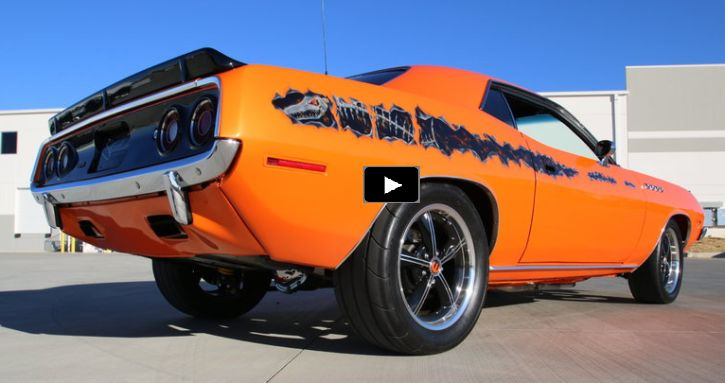 Show Stopping 1974 Plymouth Cuda 512 V8 Custom