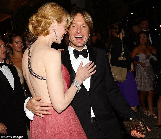 The couple had a ball throughout the night!: Black Ties, Nicole Kidman, Cannes Film Festivals, Ball, Keith Nicole Cannes, Keith Nicolecann, Keith Urban, Happy Together Keith, Annual Cannes