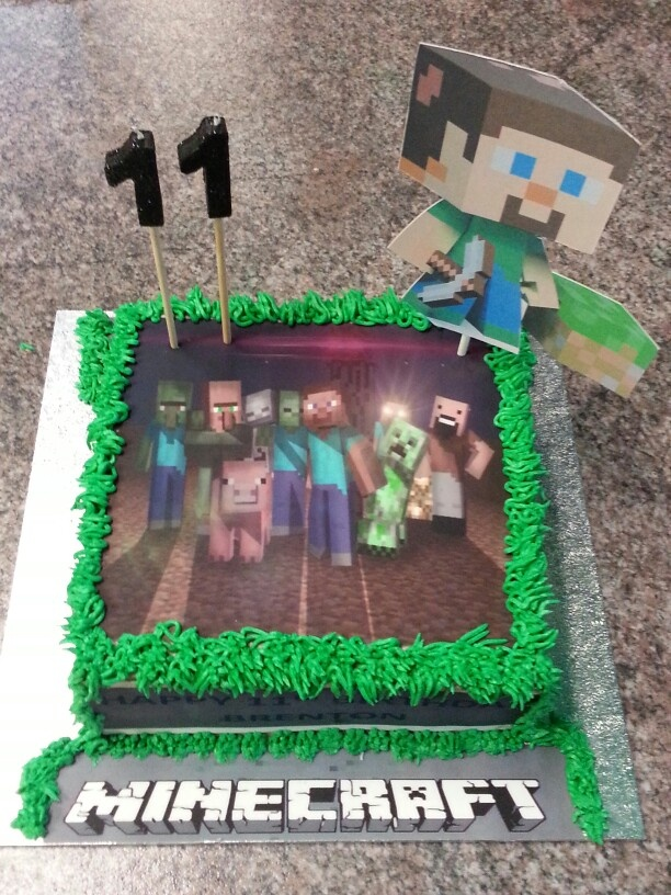 11th birthday cakes for boys