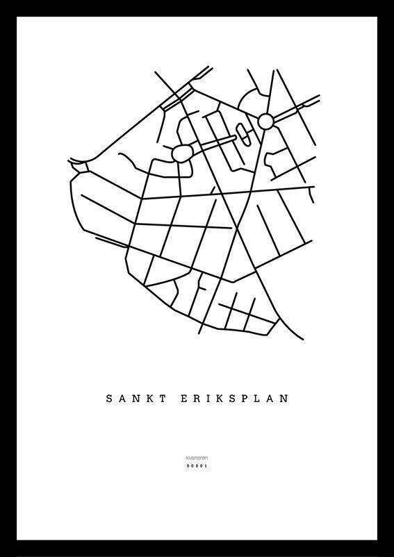 Sankt Eriksplan via kvarteren. Click on the image to see more!