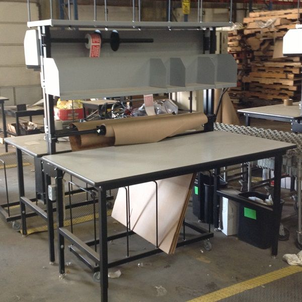 Used Packaging Bench Used Workbenches Amp Lift Tables