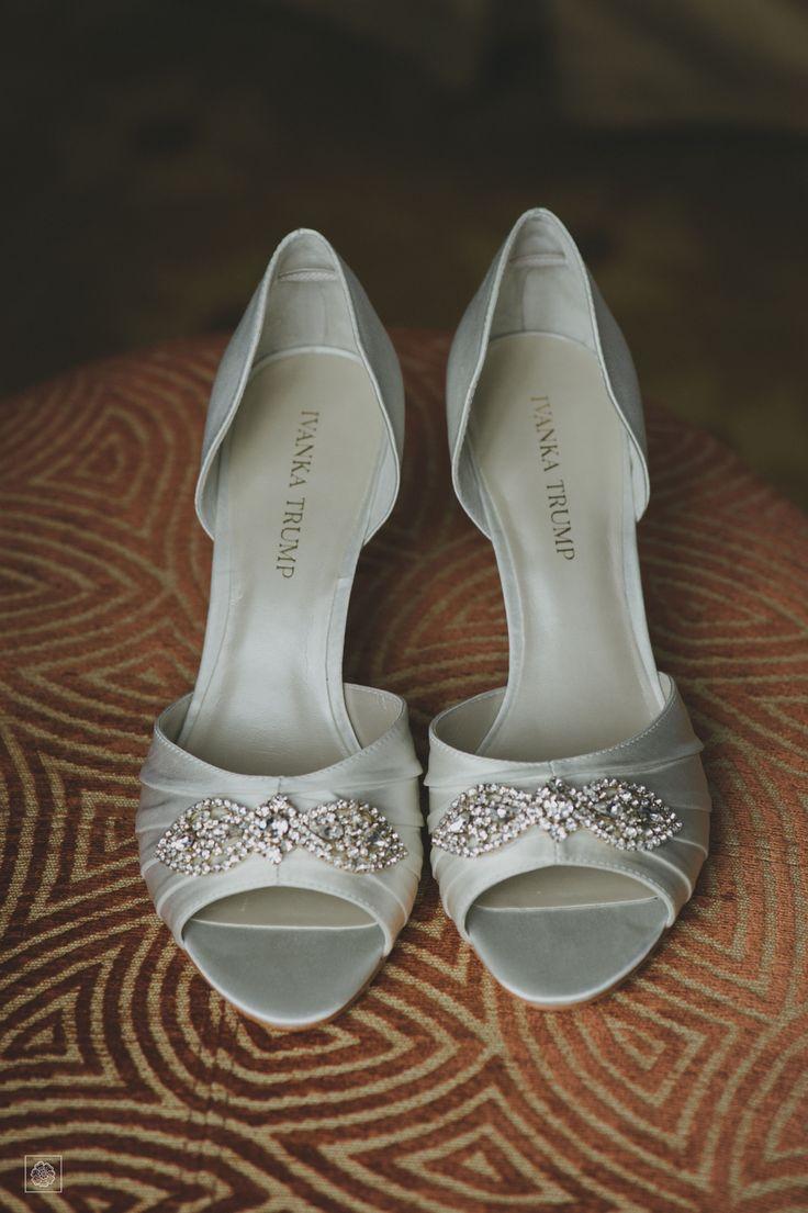 Ivanka Trump Wedding Shoes | Top Of The Town Weddings| NoVa Weddings | Getting Ready | Wedding Inspiration | Destination Wedding Photographer | Bridal Shoes Inspiration | Virginia Weddings   www.potoksworldphotos.com