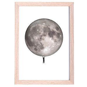 Kids Moon Print