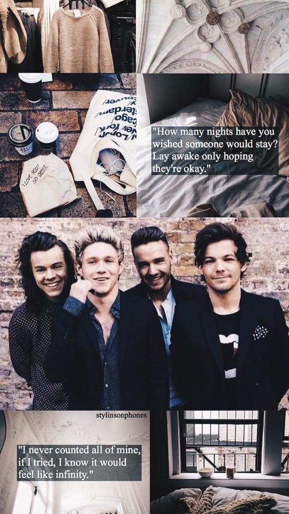 One Direction Infinity Lockscreen ✨   Ctto: @stylinsonphones ( on Twitter  )